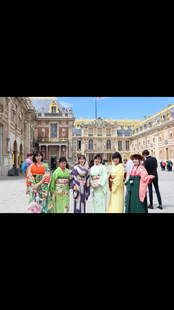 フランス・ベルサイユ宮殿をお着物で散策!
